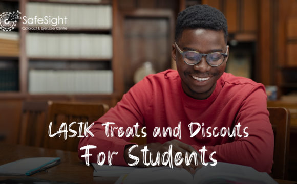 LASIK Treats and Discounts  For Students