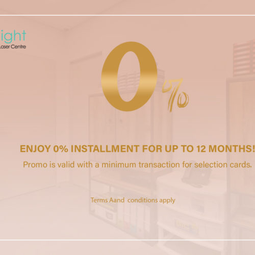 Enjoy 0% installment for up to 12 months!